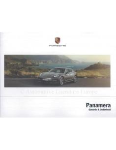 2012 PORSCHE PANAMERA GARANTIE & WARTUNG NIEDERLÄNDISCH