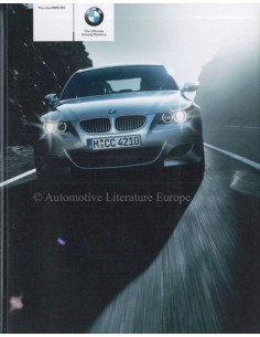 2004 BMW M5 BROCHURE GERMAN