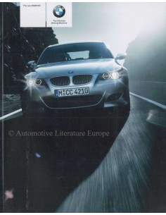 2005 BMW M5 BROCHURE ENGLISH