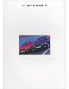 1992 BMW MER PROGRAMM PROSPEKT DEUTSCH
