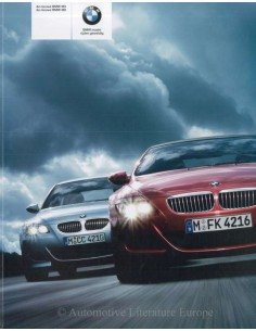 2005 BMW M5 - M6 BROCHURE DUTCH
