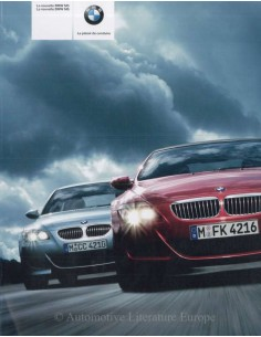 2005 BMW M5 - M6 BROCHURE FRENCH