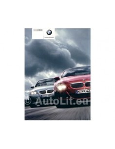 2005 BMW M5 M6 BROCHURE FRENCH