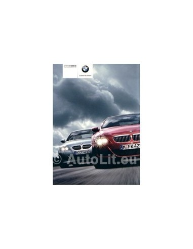 2005 BMW M5 M6 BROCHURE FRANS