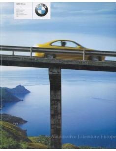 2001 BMW M PROSPEKT ENGLISCH