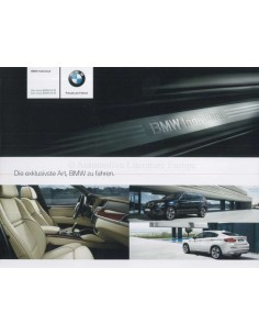 2009 BMW X5 M & X6 M INDIVIDUAL BROCHURE GERMAN