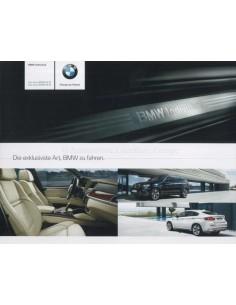 2009 BMW X5 M & X6 M INDIVIDUAL PROSPEKT DEUTSCH