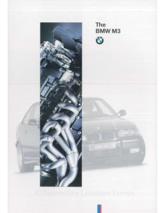 1994 BMW M3 BROCHURE ENGLISH