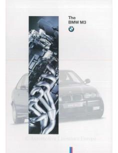1994 BMW M3 PROSPEKT ENGLISCH