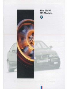 1995 BMW M3 BROCHURE ENGLISH