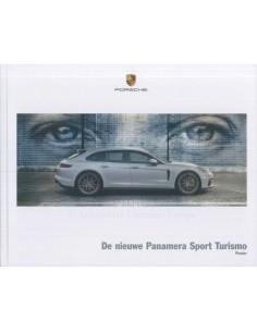 2018 PORSCHE PANAMERA SPORT TURISMO HARDCOVER BROCHURE DUTCH