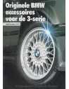 1988 BMW 3 SERIES ACCESSORIES BROCHURE DUTCH