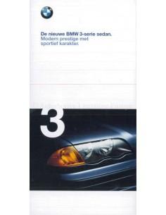 1998 BMW 3 SERIES SALOON BROCHURE DUTCH