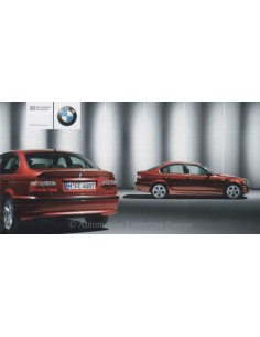 2003 BMW 3 SERIES EXCLUSIVE BROCHURE DUITS