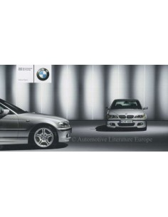 2003 BMW 3 SERIES SPORT BROCHURE DUITS