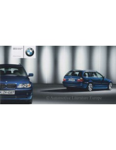 2003 BMW 3 SERIES LIFESTYLE BROCHURE GERMAN