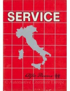 1981 ALFA ROMEO GUIDE TO SERVICE NETWORK