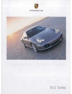 2000 PORSCHE 911 TURBO BROCHURE ENGLISH (US)