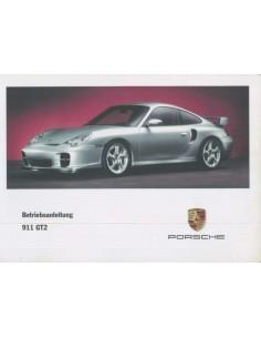 2002 PORSCHE 911 GT2 OWNERS MANUAL GERMAN