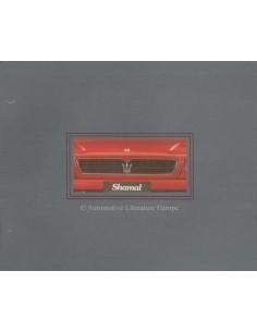 1990 MASERATI SHAMAL BROCHURE IT / GB / FR / D
