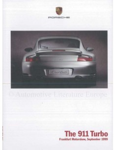 2000 PORSCHE 911 TURBO BROCHURE ENGLISH