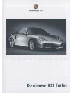 2000 PORSCHE 911 TURBO HARDBACK BROCHURE DUTCH