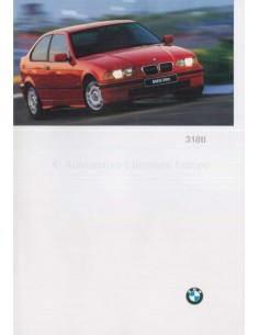1996 BMW 3 SERIES COMPACT E36 BROCHURE ENGLISH (US)