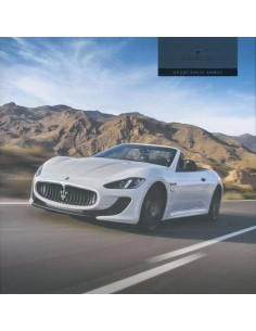 2015 MASERATI GRANCABRIO MC SPORT BROCHURE ENGLISH