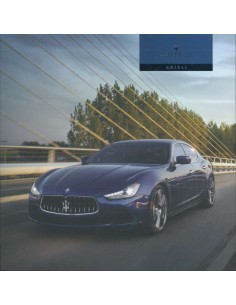 2014 MASERATI GHIBLI BROCHURE GERMAN
