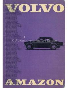 1965 VOLVO AMAZON 121/122 BETRIEBSANLEITUNG SCHWEDISCH