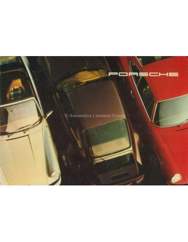 1976 PORSCHE 911 CARRERA & TURBO BROCHURE FRENCH