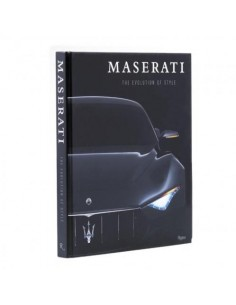MASERATI 'THE EVOLUTION OF STYLE' - RIZZOLI BOEK