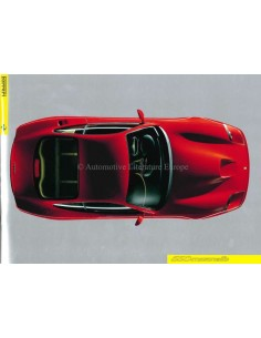 1996 FERRARI 550 MARANELLO PRESS BROCHURE 1102/96