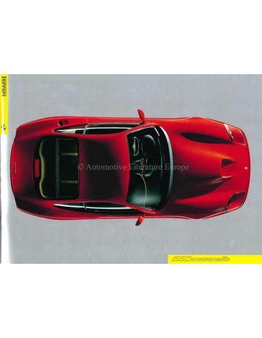 1996 FERRARI 550 MARANELLO PRESS BROCHURE 1102/96