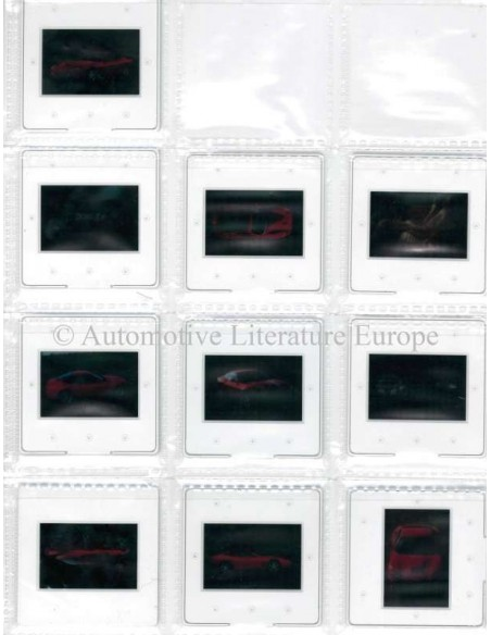 1996 FERRARI 550 MARANELLO PERS BROCHURE PERSMAP 1102/96