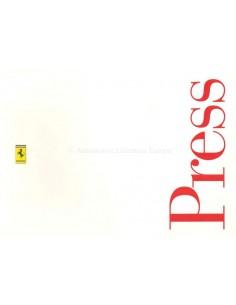 1996 FERRARI PROGRAMM PRESSEMAPPE ENGLISCH & ITALIENISCH 1122/96