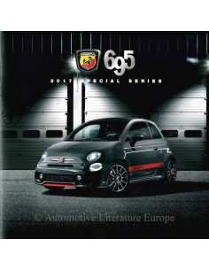 2017 ABARTH 695 BROCHURE DUTCH