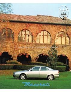 1994 MASERATI GHIBLI & QUATTROPORTE PROSPEKT ITALIENISCH