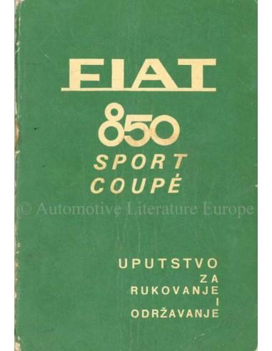 1968 fiat 850 sport coup owners manual croatian rh autolit eu Fiat 850 Spider 1968 Fiat 850 Coupe