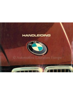 1983 BMW 3 SERIES OWNERS MANUAL DUTCH