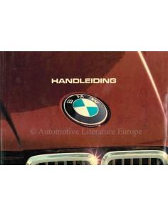 1983 BMW 3ER BETRIEBSANLEITUNG NIEDERLÄNDISCH