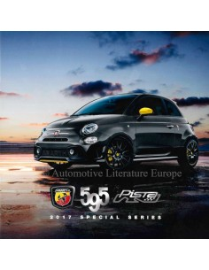 2017 ABARTH 595 PISTA SPECIAL SERIES BROCHURE NEDERLANDS