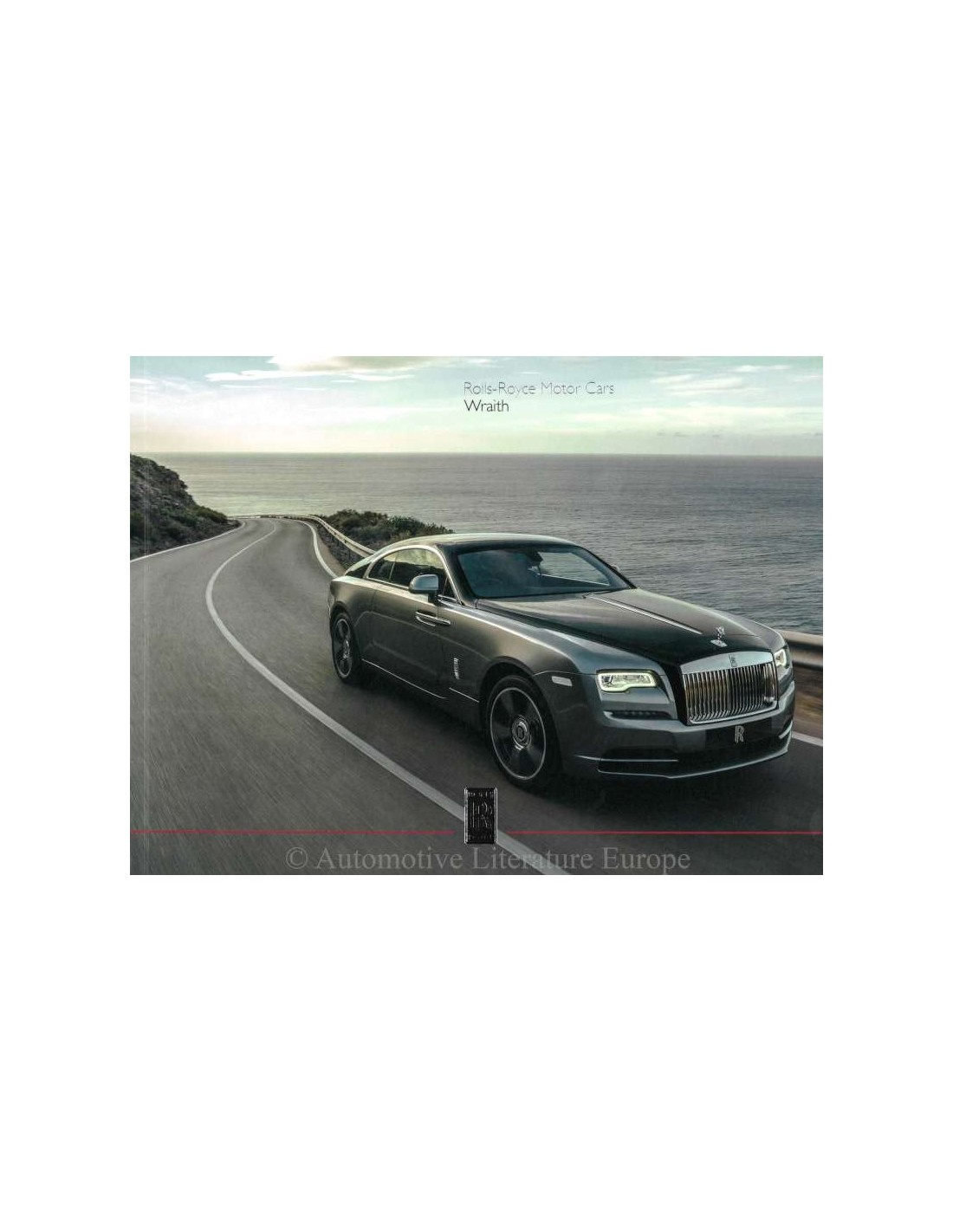 2017 ROLLS ROYCE WRAITH BROCHURE ENGLISH