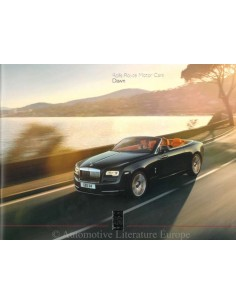 2015 ROLLS ROYCE DAWN HARDCOVER BROCHURE ENGELS