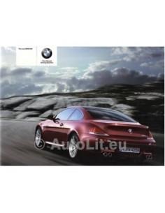 2005 BMW M6 PROSPEKT ENGLISCH AUSTRALIEN