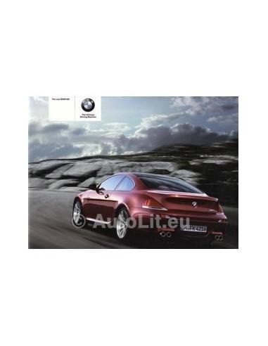 2005 BMW M6 BROCHURE ENGELS AUSTRALIE