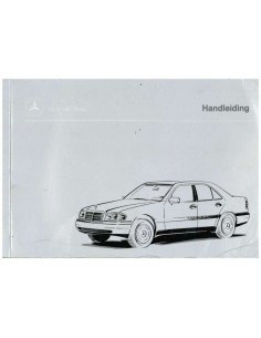 1995 MERCEDES BENZ C KLASSE INSTRUCTIEBOEKJE NEDERLANDS