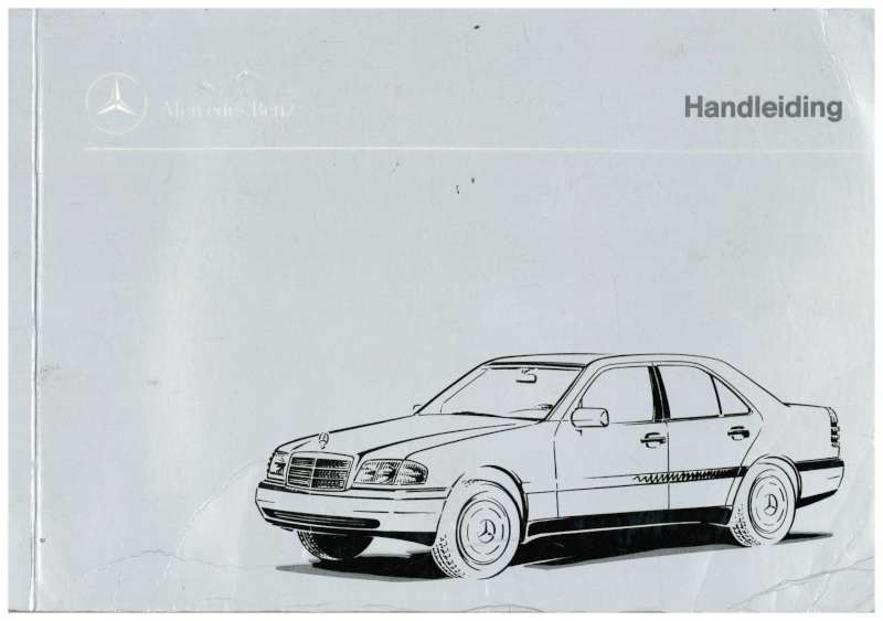 1995 mercedes benz c class owners manual dutch for Mercedes benz c class owners manual
