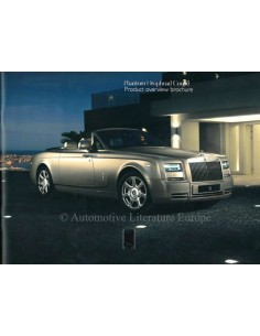 2014 ROLLS ROYCE DROPHEAD COUPÉ BROCHURE ENGELS