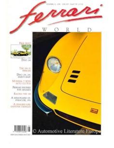 1991 FERRARI WORLD MAGAZIN 12 ENGLISCH
